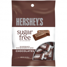 Hershey's Sugar Free Mini Chocolate Bar Bag (85g)