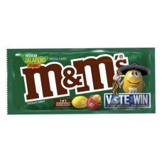 M&M's Mexican Jalapeno Peanut Chocolate Candies