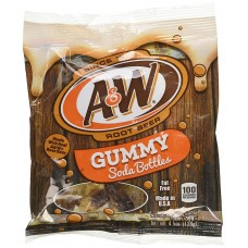 Kenny's A&W Root Beer Gummy Soda Bottles